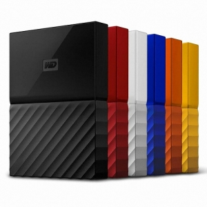 WD 외장하드 My Passport Ultra 2TB 블랙, 2.5