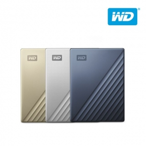WD 외장하드 My Passport Ultra Metal 2TB 블루, 2.5