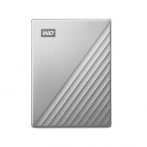 WD 외장하드 My Passport Ultra Metal 2TB 실버, 2.5
