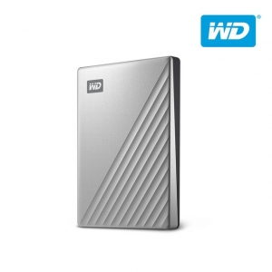 WD 외장하드 My Passport Ultra Metal 1TB 실버, 2.5